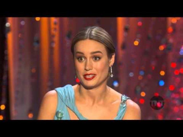 画像: Brie Larson Acceptance Speech I 22nd SAG Awards youtu.be