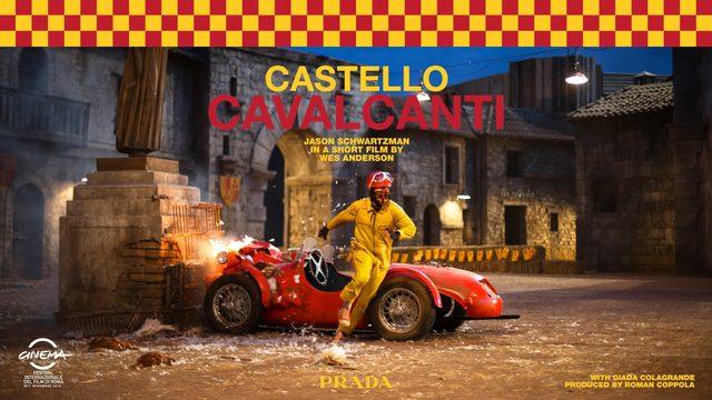 "画像: PRADA presents ""CASTELLO CAVALCANTI"" by Wes Anderson youtu.be"