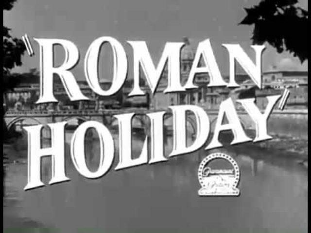 画像: Roman Holiday Trailer youtu.be