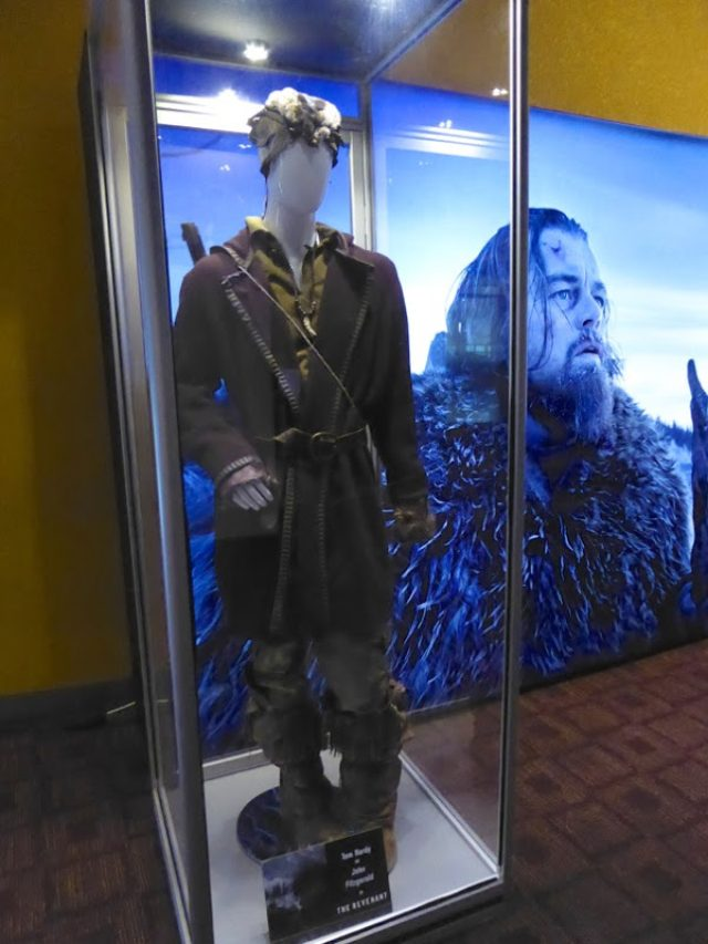 画像: Hollywood Movie Costumes and Props: Tom Hardy and Leonardo DiCaprio film costumes from The Revenant on display... Original film costumes and props on display