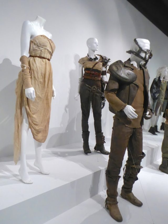 画像: Hollywood Movie Costumes and Props: Oscar-nominated Mad Max: Fury Road movie costumes on display... Original film costumes and props on display