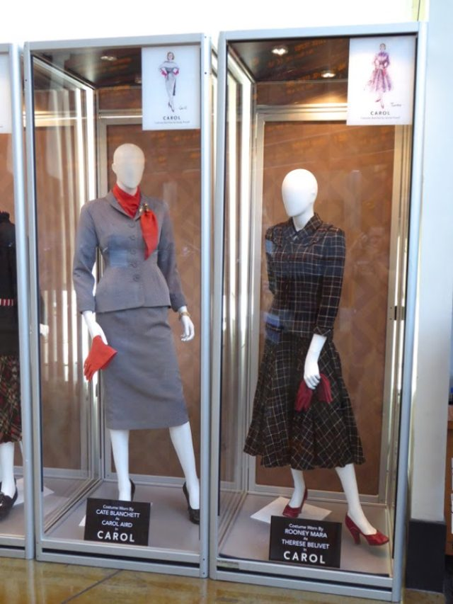 画像: Hollywood Movie Costumes and Props: Cate Blanchett and Rooney Mara costumes from Carol on display... Original film costumes and props on display