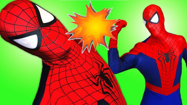 画像: Spiderman vs Spiderman vs Joker with Hulk in Real Life! Fun Superhero Movie! youtu.be