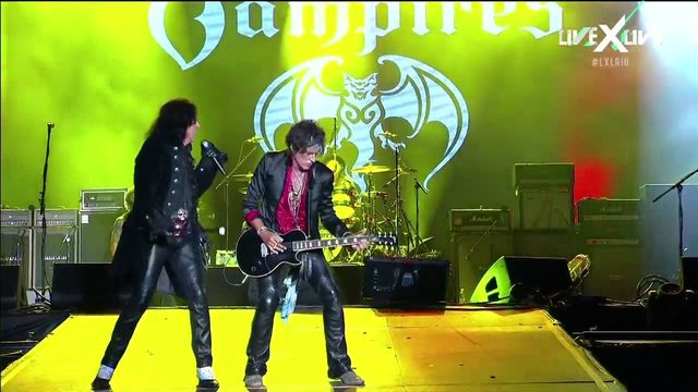 画像: Hollywood Vampires at Rock in Rio 2015 720p HD Full Show Live youtu.be