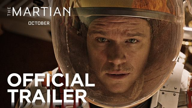 画像: The Martian | Official Trailer [HD] | 20th Century FOX youtu.be