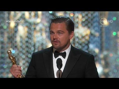 画像: Leonardo DiCaprio Wins The Oscar 2016 [Mejor Actor-Winning Best Actor] (The Revenant) youtu.be