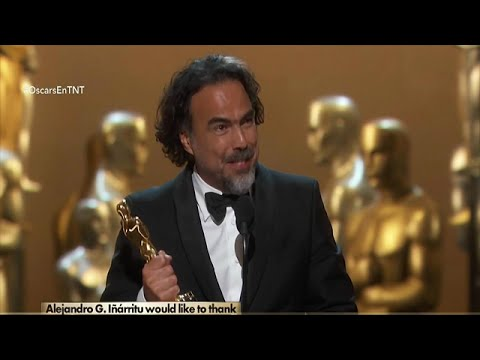 画像: Alejandro G. Iñárritu Ganador de su 2do Oscar Consecutivo [Mejor Director-Best Directing] 2016 youtu.be