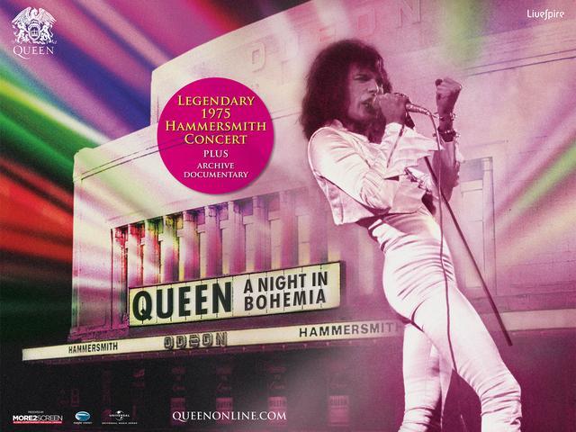 画像1: 伝説のコンサート&未公開ドキュメンタリー クイーン|ボヘミアの夜 QUEEN: A NIGHT IN BOHEMIA 全国5大都市の Zepp で、同時爆音上映!!
