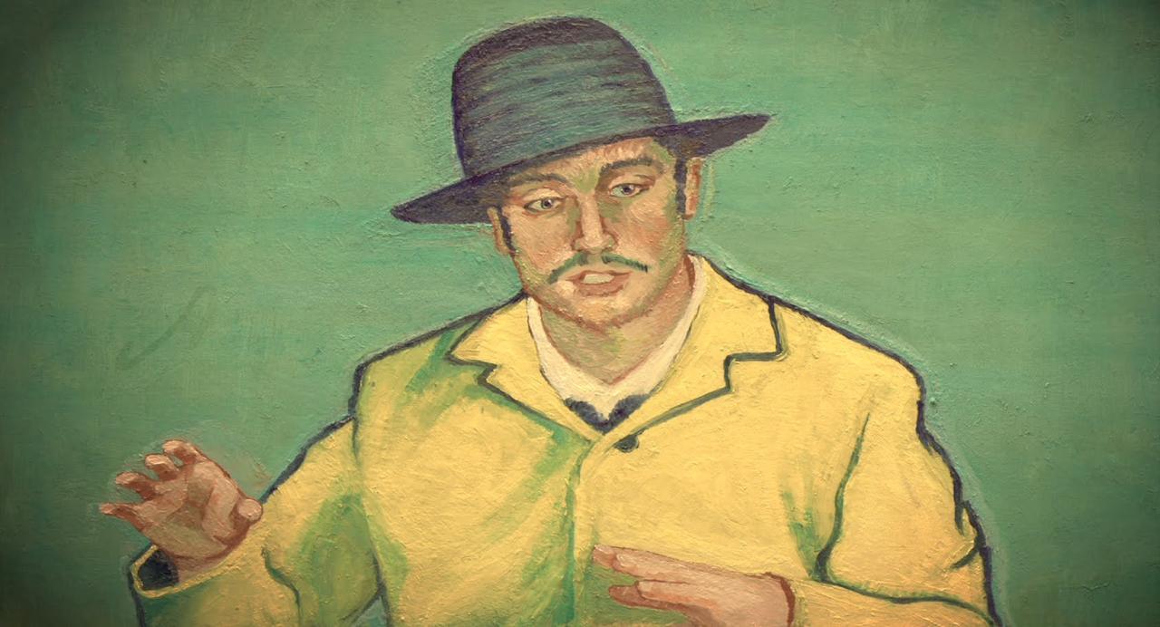 画像: Loving Vincent - film brings the paintings of Van Gogh to life youtu.be