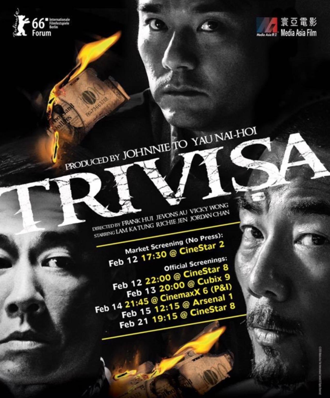 画像: ジョニー・トー&ヤウ・ナイホイが製作。監督に新世代の3人を起用したアクション話題作『Trivisa』の海外予告解禁!!!