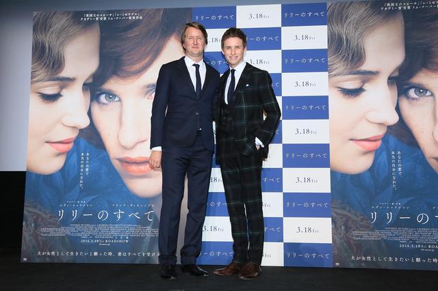 画像: 監督と二人で舞台挨拶