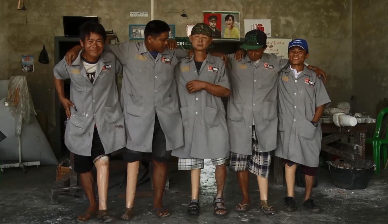 画像: 『私の足』 監督 Khon Soe Moe Aung