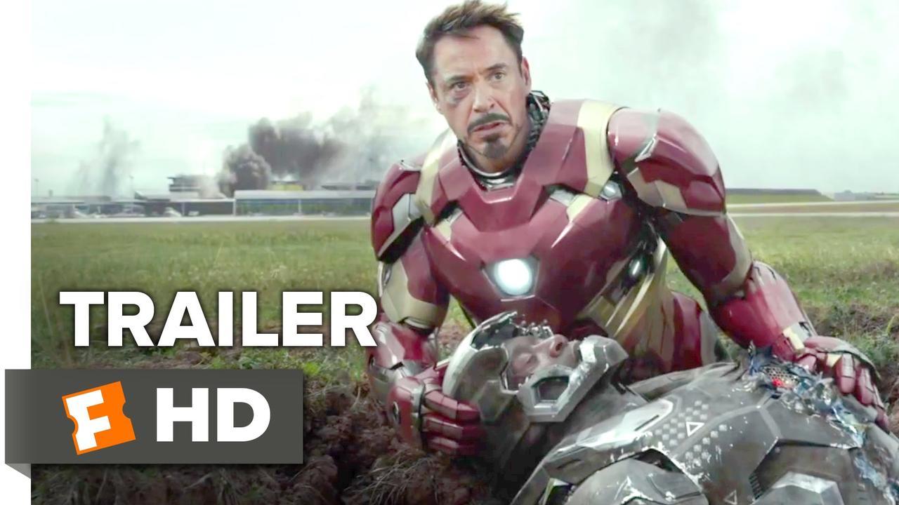 画像: Captain America: Civil War Official Trailer #1 (2016) - Chris Evans, Scarlett Johansson Movie HD youtu.be