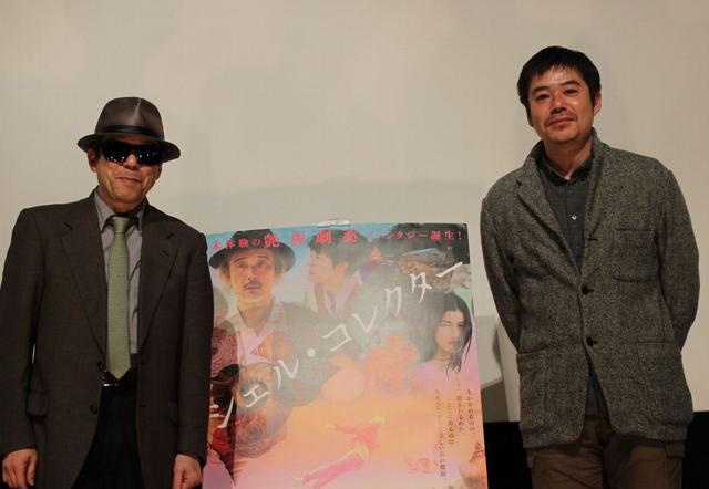 画像: 右 坪田義史監督 、左 矢崎仁司監督