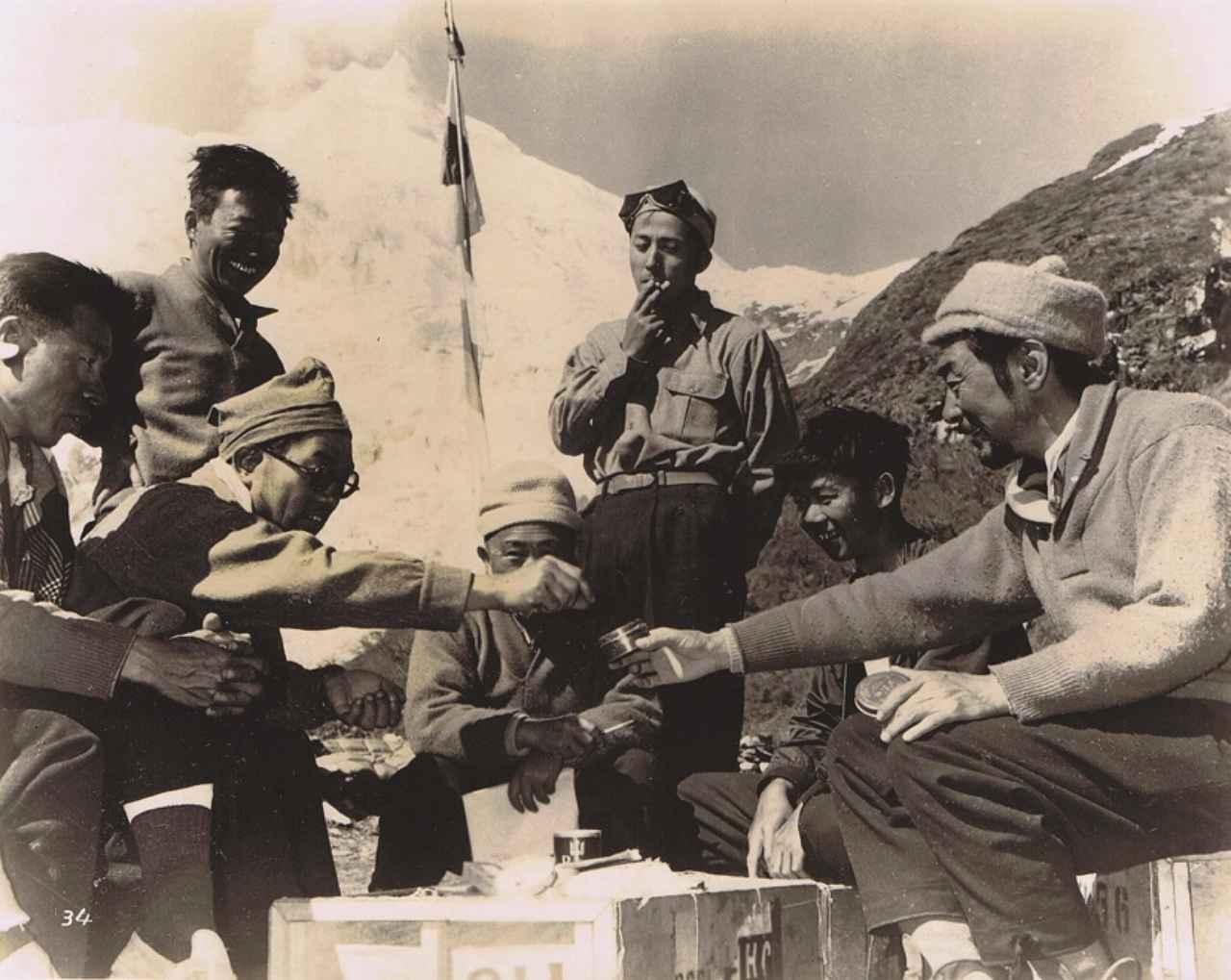 画像2: 『標高8125米 マナスルに立つ』1956年/カラー/35mm/監督:山本嘉次 郎