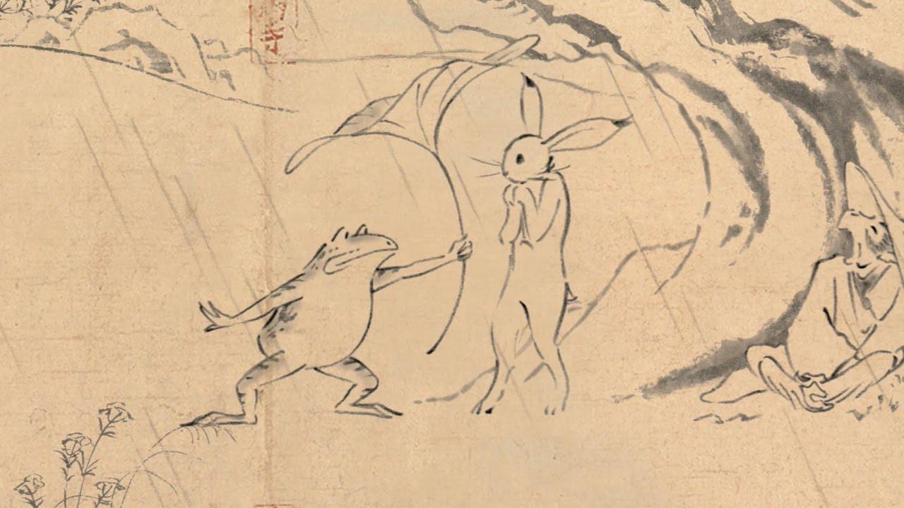 画像: 丸紅新電力 鳥獣戯画「出会い」篇 youtu.be
