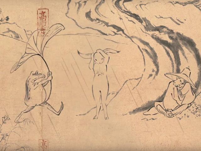 画像: スタジオジブリ最新作は「鳥獣戯画」 日本最古のマンガでCM制作 - ライブドアニュース