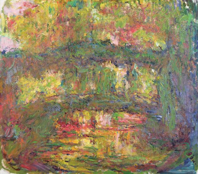 画像: クロード・モネ 《日本の橋》 1918-24年 Musée Marmottan Monet, Paris © Bridgeman-Giraudon