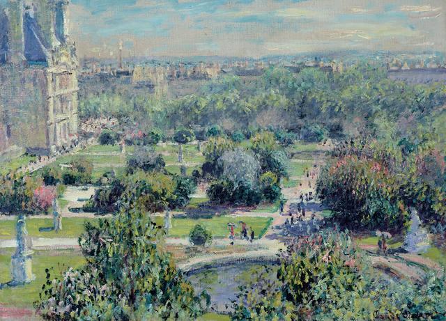 画像: クロード・モネ 《テュイルリー公園》 1876年 Musée Marmottan Monet, Paris © Bridgeman-Giraudon 展示期間2016年3月22日(火)~5月8日(日)