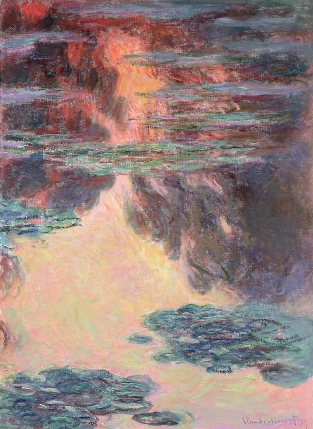 画像: クロード・モネ 《睡蓮》 1907年 Musée Marmottan Monet, Paris © Bridgeman-Giraudon