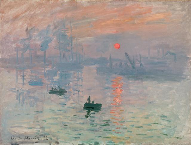 画像: クロード・モネ 《印象、日の出》 1872年 Musée Marmottan Monet, Paris © Christian Baraja 展示期間2016年3月1日(火)~3月21日(月・祝)