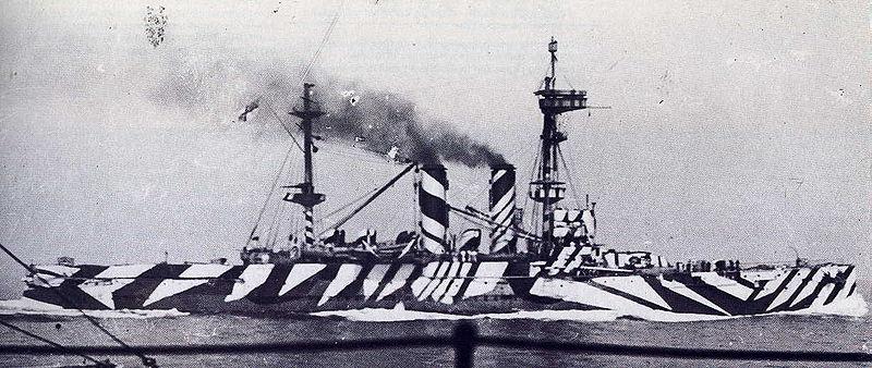 画像: 戦艦ロンドン / HMS London (1918) publicdomainreview.org