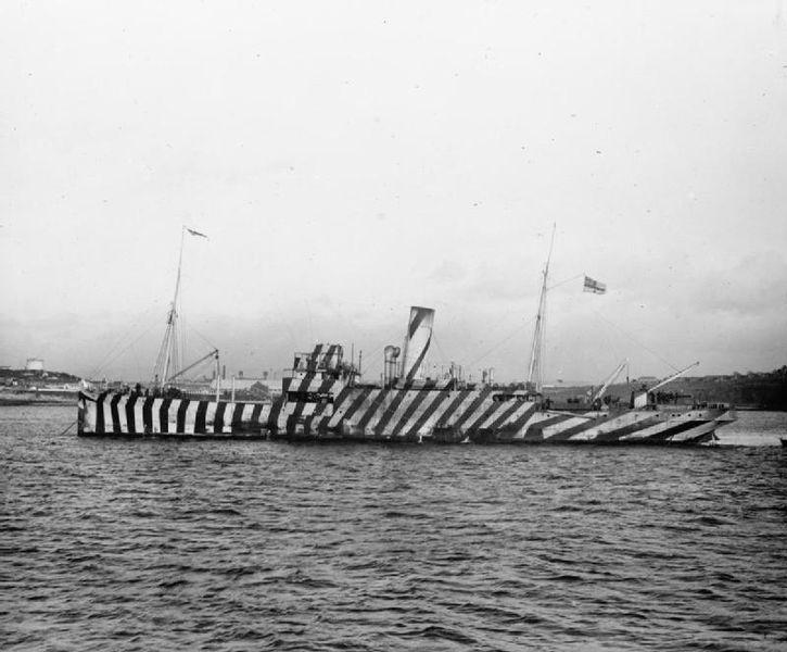 画像: 砲艦アンダーウィング / HMS Underwing (c.1918)