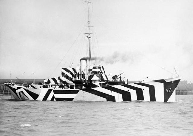 画像: 砲艦キルダンガン / HMS Kildangan (1918) publicdomainreview.org