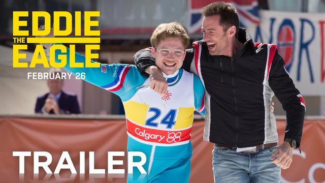 画像: 『Eddie The Eagle(原題)』 Eddie the Eagle | Official Trailer [HD] | 20th Century FOX youtu.be