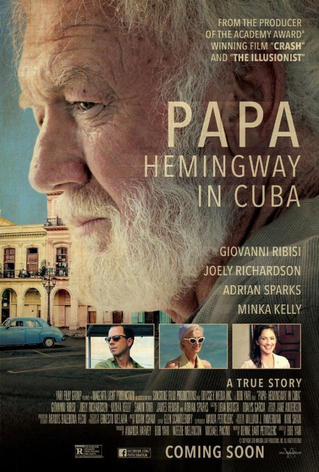 画像: http://blogs.indiewire.com/theplaylist/watch-new-trailer-for-papa-hemingway-in-cuba-starring-giovanni-ribisi-and-minka-kelly-20160324