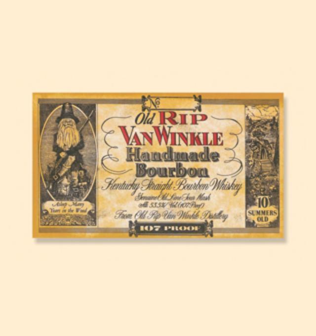 画像: Old Rip Van Winkle Handmade Bourbon oldripvanwinkle.com