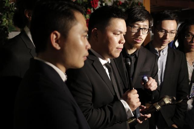 画像: 映画「十年」の監督たち www.hk01.com