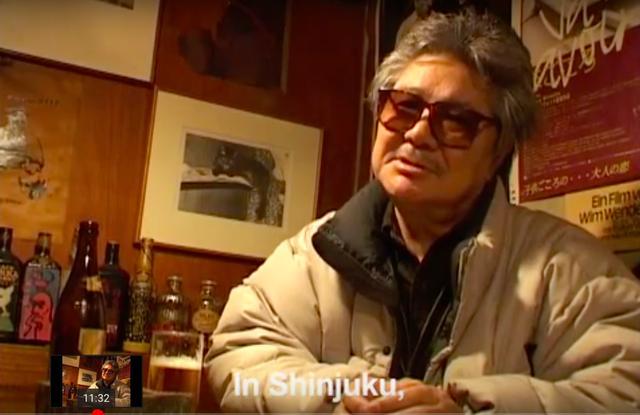 画像: 映画監督 若松孝二 スクリーンショット