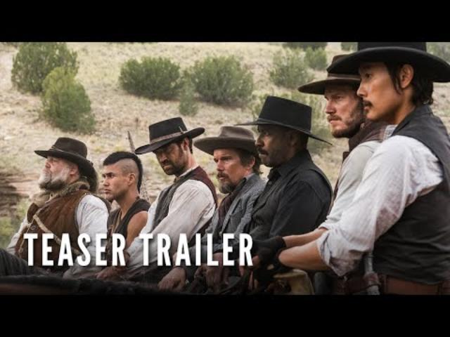 画像: 『荒野の七人』 THE MAGNIFICENT SEVEN - Teaser Trailer (HD) youtu.be