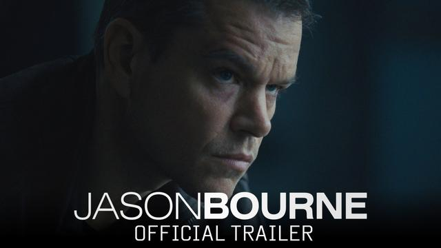 画像: Jason Bourne - Official Trailer (HD) youtu.be