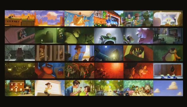 画像: 堤大介 カラースクリプト 『トイ・ストーリー3』(2010年) デジタルペインティング 「©Disney/Pixar」 photo©cinefil