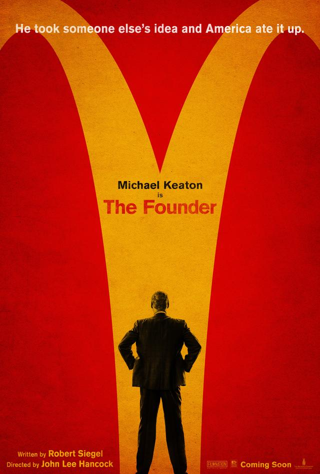 画像: http://deadline.com/2016/04/the-founder-trailer-michael-keaton-mcdonalds-nick-offerman-1201741779/