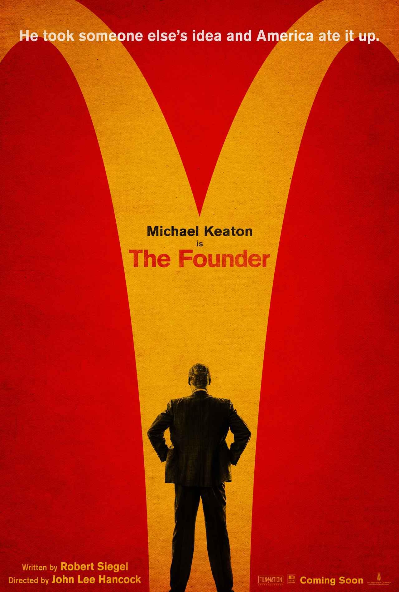 画像: http://deadline.com/2016/04/the-founder-trailer-michael-keaton-mcdonalds-nick-offerman-1201741779/