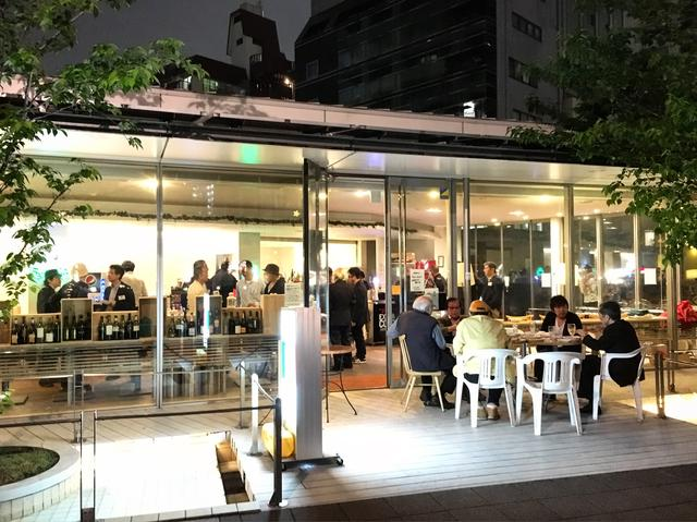 画像: 記念パーティー 外から @ さくらてらす五反田