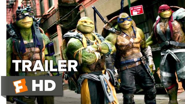 画像: 『ミュータント・ニンジャ・タートルズ:影(シャドウズ)』 Teenage Mutant Ninja Turtles: Out of the Shadows Official Trailer #1 (2016) - Megan Fox Movie HD youtu.be