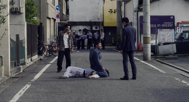 画像: 喧嘩シーン