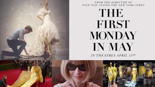 画像: The First Monday in May - Official Trailer youtu.be