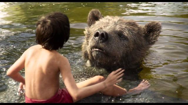 "画像: ""Bare Necessities"" Clip - Disney's The Jungle Book youtu.be"
