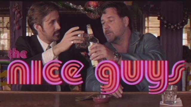 画像: The Nice Guys - 70's Retro Trailer [HD] youtu.be