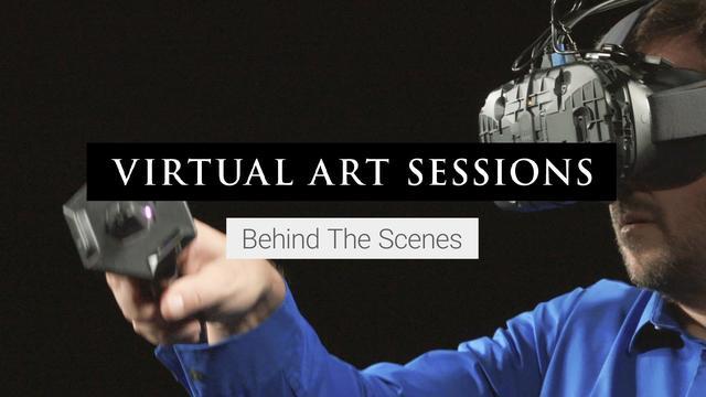 画像: Virtual Art Sessions: Behind the Scenes youtu.be