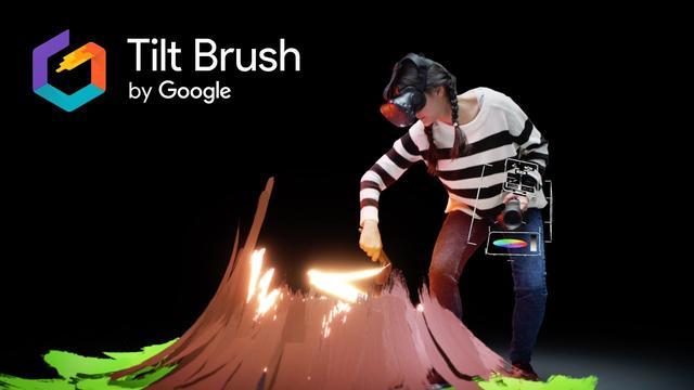 画像: Tilt Brush: Painting from a new perspective youtu.be