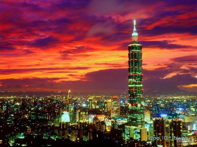 画像: 台北の夜景 http://blog.goo.ne.jp/rokochifukyosho/e/d799052d25977cfdcb612a6470bfc22b