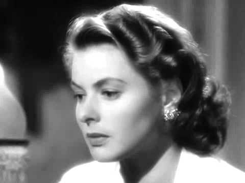 画像: Casablanca Best Scene-Play it sam! For old time's sake... youtu.be