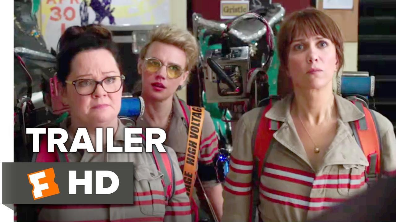 画像: Ghostbusters Official Trailer #2 (2016) - Kristen Wiig, Melissa McCarthy Movie HD youtu.be