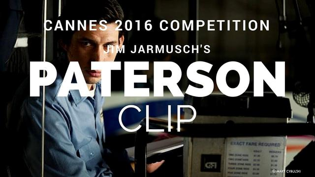 画像: PATERSON - Jim Jarmusch Film Clip\Teaser (Cannes Competition 2016) youtu.be